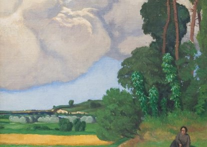 Félix Vallotton, Le grand nuage, 1918, ancienne collection Jean-Claude Givel